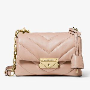 Michael Kors Cece XS Quilted Leather Crossbody Bag